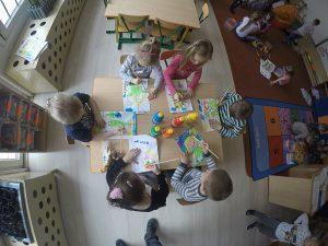 Przedszkole Ostrów Wielkopolski - zajęcia plastyczne