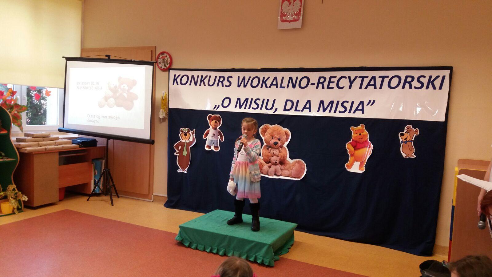 O Misiu Dla Misia Przedszkole