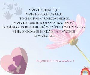 Życzenia z okazji Dnia Mamy