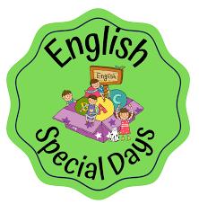 """Logo ogólnopolskiego projektu edukacyjnego """"English special days"""""""